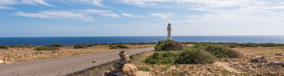 Formentera La Mola lighthouse balearic islands mediterranean Sea